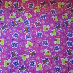 Ability World communication book butterflies fabric cover